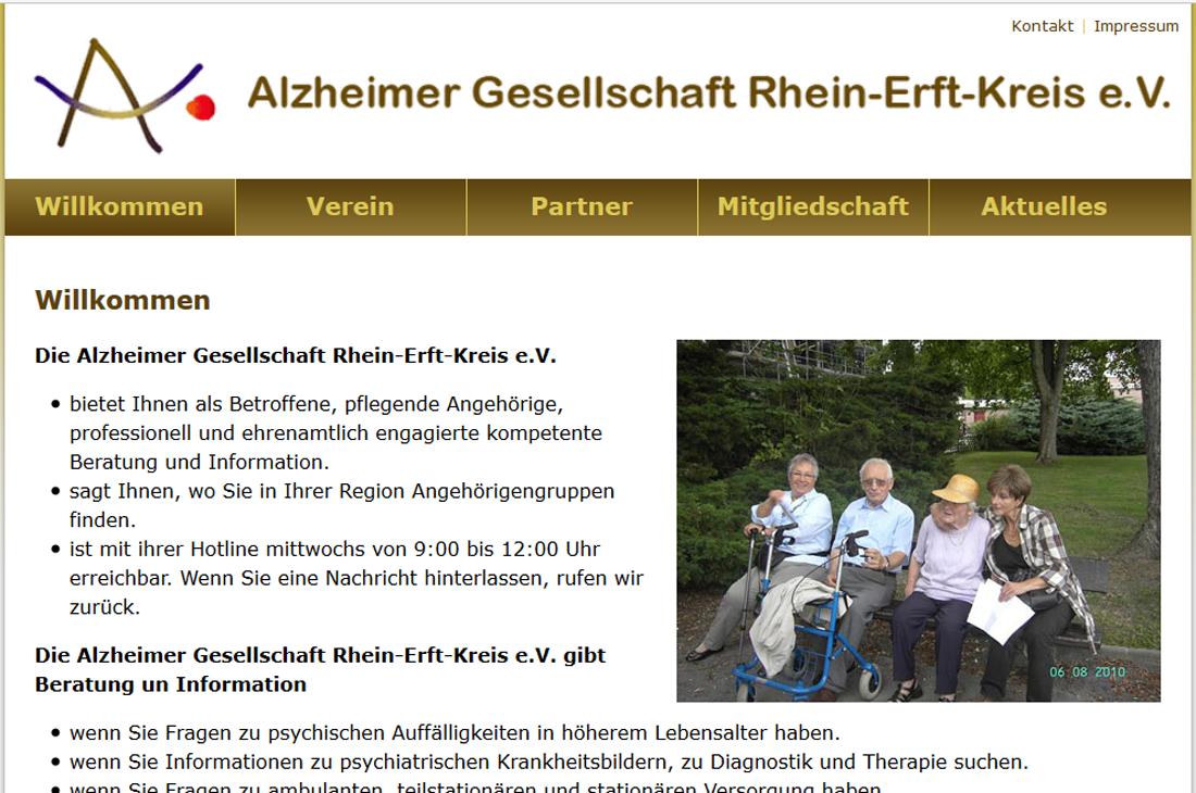 Alzheimer Gesellschaft des Rhein-Erft Kreises