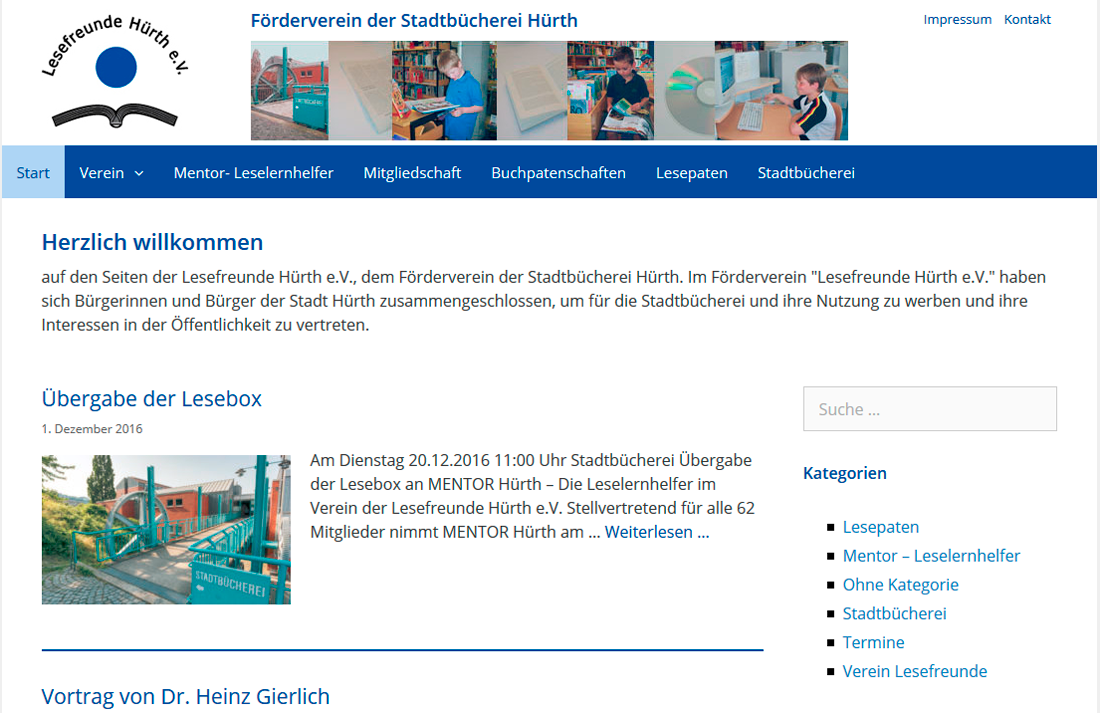 Lesefreunde-Huerth.de